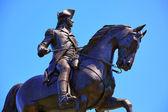 Monumento de Boston Common George Washington — Fotografia Stock