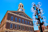 Boston Faneuil Hall in Massachusetts USA — Stock Photo