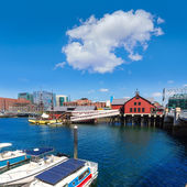 Boston Tea Party i Massachusetts — Stockfoto