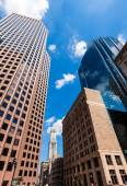 Boston in Massachusetts downtown buidings — Stock Photo