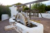 Almeria Cabo de Gata watermill Pozo de los Frailes — Stock Photo