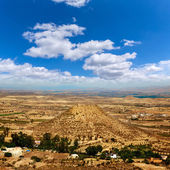 Luchtfoto van Mojacar Almeria village in Spanje — Stockfoto