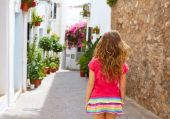 Mojacar Almeria weiß mediterranes Dorf Spanien — Stockfoto