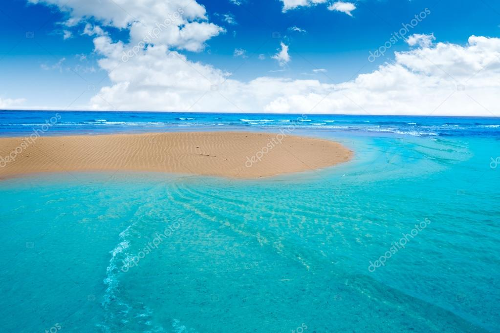 Fuerteventura Jandia Playa Sotavento Canarias — Foto de Stock #97844852 — Dep...