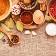 Spices and ingredients — Stock Photo #77062135