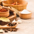 Spices and ingredients — Stock Photo #77392514