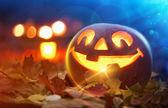 Halloween Jack O Lantern — Stock Photo