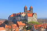 Castle hill Quedlinburg — Stock Photo