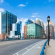 Modern buildings in The financial district in Boston - USA — Stock Photo #59052671