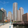 Modern buildings in The financial district in Boston - USA — Stock Photo #59052715