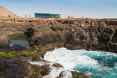 Buracona  in sal Island Cape Verde - Cabo Verde — Stock Photo