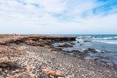 Wild Boavista Island coast in Cape Verde - Cabo Verde — Stock Photo