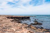 Wild Boavista Island coast in Cape Verde - Cabo Verde — Stockfoto