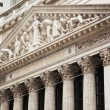 New York stock exchange building in Manhattan - USA - United sta — Stock Photo #64543887