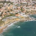 Aerial view of Estoril coastline near Lisbon — Stock Photo #72087485
