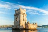 Belem tower - Torre de Belem  in Lisbon — Stock Photo