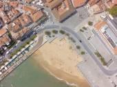 Aerial view of Cascais coastline near Lisbon — Stock Photo
