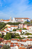 Miradouro da Graca from Sao Jorge castle in Lisbon, Portugal — Foto Stock