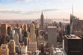 View of lower Manhattan in New York — Stock Photo