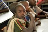 Children study at ethiopian school. — 图库照片