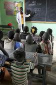 Children study at ethiopian school. — Foto de Stock
