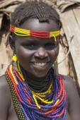 Portrait of the African girl. — Stock Photo