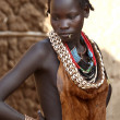 Portrait of the African woman. — Stock Photo #60592891