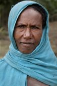 Portrait of the African woman. — Stock Photo