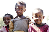 Portrait of the African boys. — Stock Photo