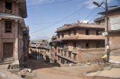 The street of Patan — Stock Photo