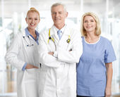 Successful medical staff — Foto de Stock