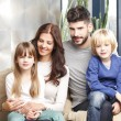 Happy young family — Stock Photo #73280153