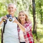 Senior people enjoying a walk together. — Stock Photo #78886354