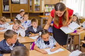 Classroom with children — Stock Photo