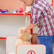Child's doctor at work — Stock Photo #78386150