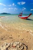 Coast, boat, sea, water — Stock Photo