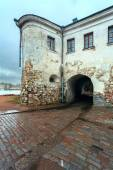 Fortress arch entry — Foto Stock