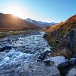 Sunset mountain river — Stock Photo #61544031