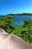 Sea Bay, the island — Stock Photo