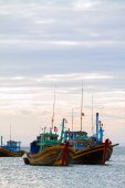 Two fishing boats — Stock Photo