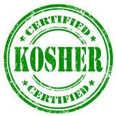 Kosher-stamp — Stock Vector