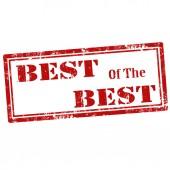 Best Of The Best-stamp — Vector de stock