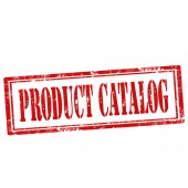 Product Catalog-stamp — Stockvector