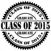 Class Of 2015 — Stock Vector