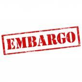 Embargo-stamp — Stock Vector