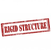 Rigid Structure-stamp — Stock Vector