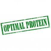 Optimal Protein-stamp — Stock Vector