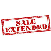 Sale Extended — Stock Vector