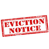 Eviction Notice — Stock Vector