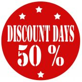 Discount Days — Stock Vector